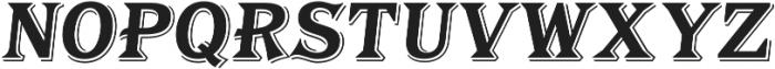 Tavern Alt S Bold Italic otf (700) Font LOWERCASE