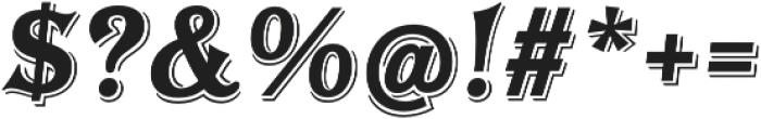 Tavern Alt X Bold Italic otf (700) Font OTHER CHARS