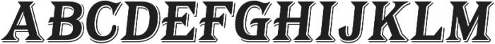 Tavern Alt X Bold Italic otf (700) Font UPPERCASE