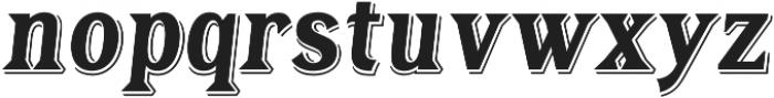 Tavern Alt X Bold Italic otf (700) Font LOWERCASE