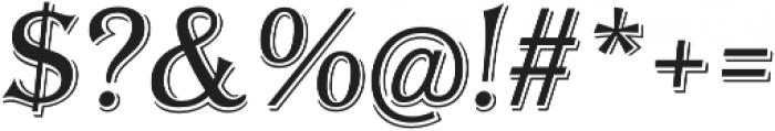 Tavern Alt X Light Italic otf (300) Font OTHER CHARS