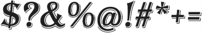 Tavern Alt X Regular Italic otf (400) Font OTHER CHARS