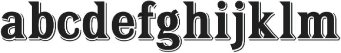 Tavern Bold otf (700) Font LOWERCASE