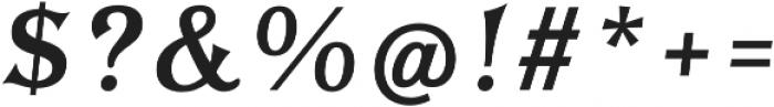 Tavern Fill L Regular Italic otf (400) Font OTHER CHARS