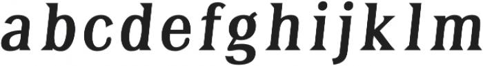 Tavern Fill XL Regular Italic otf (400) Font LOWERCASE