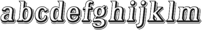 Tavern Open L Regular Italic otf (400) Font LOWERCASE