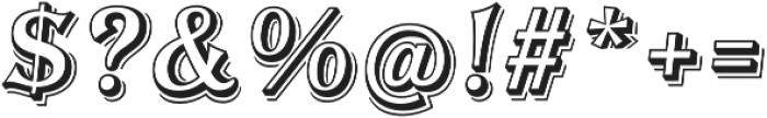 Tavern Open XL Regular Italic otf (400) Font OTHER CHARS