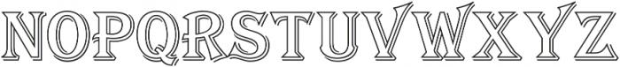 Tavern Out XL Regular otf (400) Font UPPERCASE