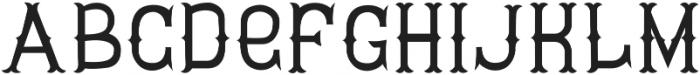 Tavern Regular otf (400) Font UPPERCASE