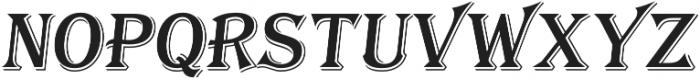 Tavern S Regular Italic otf (400) Font LOWERCASE
