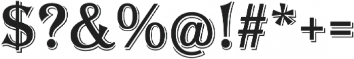 Tavern S Regular otf (400) Font OTHER CHARS