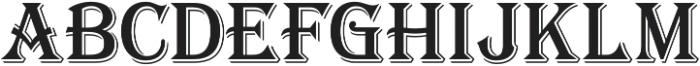 Tavern S Regular otf (400) Font LOWERCASE