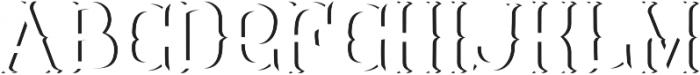 Tavern ShadowFX otf (400) Font LOWERCASE