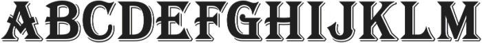 Tavern X Bold otf (700) Font UPPERCASE