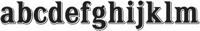 Tavern X Bold otf (700) Font LOWERCASE