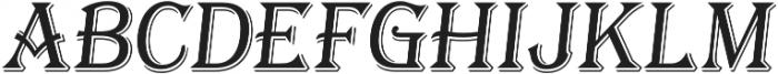 Tavern X Light Italic otf (300) Font UPPERCASE