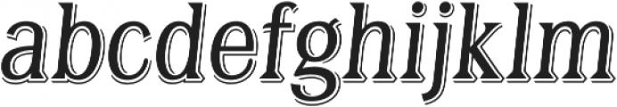 Tavern X Light Italic otf (300) Font LOWERCASE