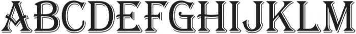 Tavern X Light otf (300) Font UPPERCASE