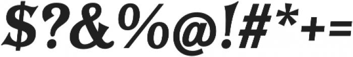 Tavern X Plain Bold Italic otf (700) Font OTHER CHARS