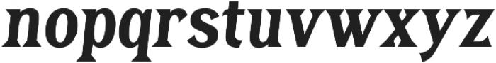 Tavern X Plain Bold Italic otf (700) Font LOWERCASE