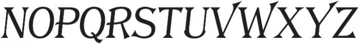 Tavern X Plain Light Italic otf (300) Font UPPERCASE