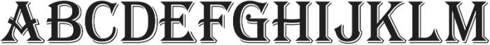 Tavern X Regular otf (400) Font UPPERCASE