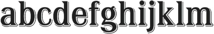 Tavern X Regular otf (400) Font LOWERCASE