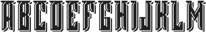 Tavern3 Light And Shadow otf (300) Font UPPERCASE