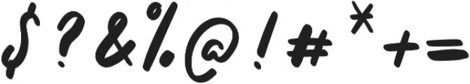 Tavernaki otf (400) Font OTHER CHARS