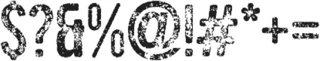 tamaki-five five otf (400) Font OTHER CHARS