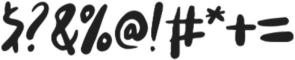 tasane otf (400) Font OTHER CHARS