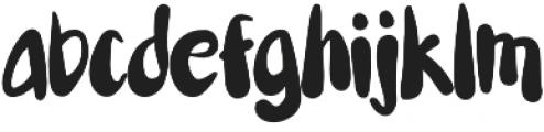 tasane otf (400) Font LOWERCASE