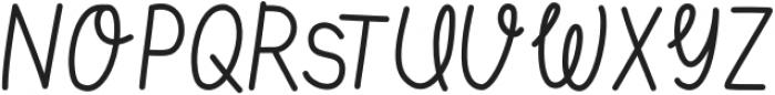 tasteofsweetlight otf (300) Font UPPERCASE