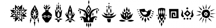 Tabu - Tribal Font Family 2 Font UPPERCASE