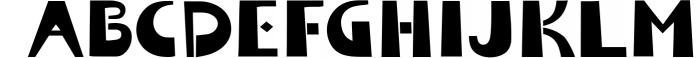 Tabu - Tribal Font Family Font UPPERCASE