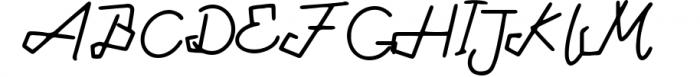 Tabulinta - A Uniquel Font Font UPPERCASE