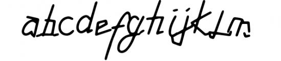 Tabulinta - A Uniquel Font Font LOWERCASE