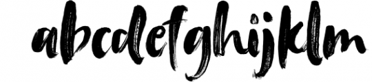 Tanktop SVG & Brush Fonts 1 Font LOWERCASE
