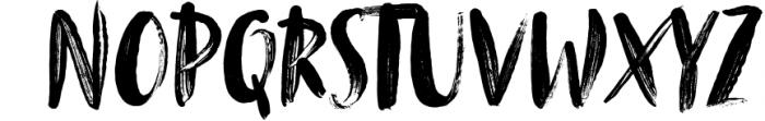 Tanktop SVG & Brush Fonts Font UPPERCASE