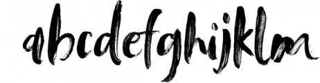 Tanktop SVG & Brush Fonts Font LOWERCASE