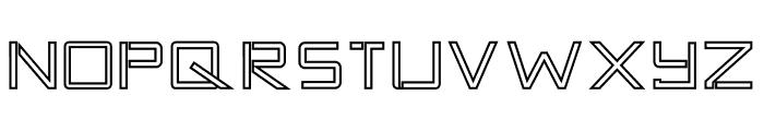 TANTRA Outline Font UPPERCASE