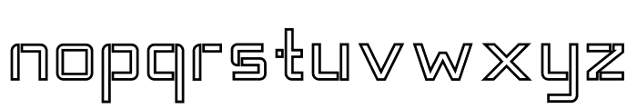 TANTRA Outline Font LOWERCASE