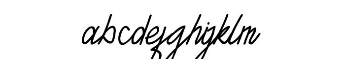 TANTRA Script Font LOWERCASE