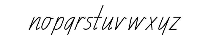 TAS School Handwriting Font Font LOWERCASE