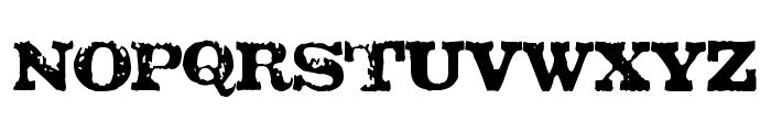TATU LA Font UPPERCASE