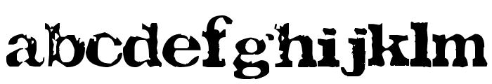 TATU LA Font LOWERCASE