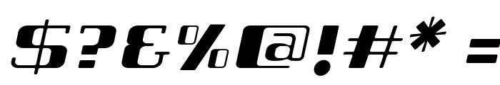 Tabaiba wild ffp Italic Font OTHER CHARS