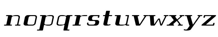Tabaiba wild ffp Italic Font LOWERCASE