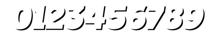 TabarraShadow-Italic Font OTHER CHARS