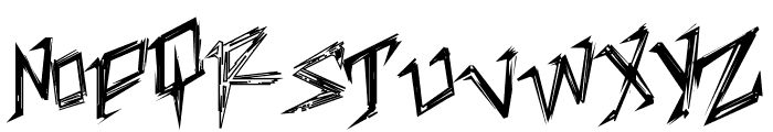 TableShank Font LOWERCASE